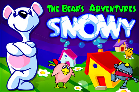Screenshot Snowy: The Bear's Adventure Lite