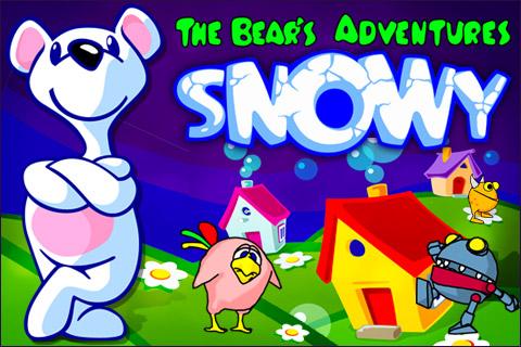 Screenshot Snowy: The Bear's Adventure Lite